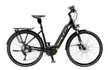 """KTMCento 10 CX5 Trapez E-Bike 28"""" Schwarz-Grün 10-Gang Modell 2019"""