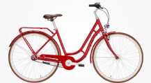 "Pegasus Bici Italia Citybike 28"" Rot 7-Gang Modell 2020"