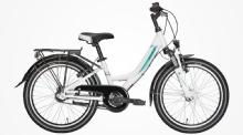"PegasusAvanti 3 Kinderrad 20"" Weiß 3-Gang Modell 2020"
