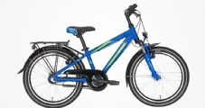 """Pegasus Avanti 3 Kinderrad 20"""" Blau-Matt 3-Gang Modell 2020"""