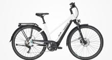 "PegasusPremio Evo 10 Lite Trapez E-Bike 28"" Metallic Weiß-Schwarz 10-Gang Modell 2020"