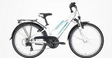 "PegasusAvanti 18 Jugendrad 24"" Weiß 18-Gang Modell 2020"