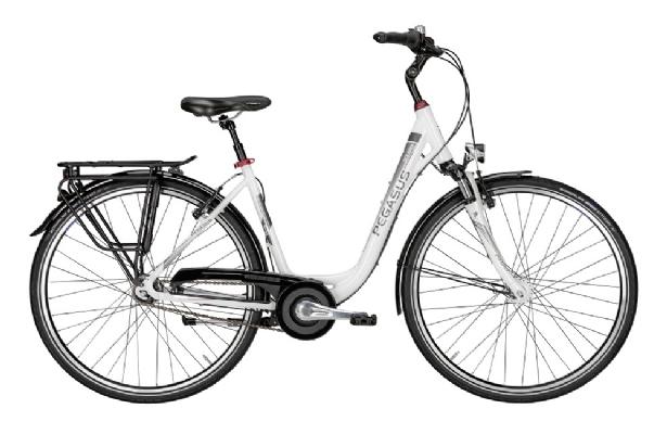 pegasus solero sl wei 28 zoll damen fahrrad mit 7 gang. Black Bedroom Furniture Sets. Home Design Ideas