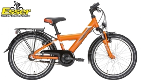 Pegasus Avanti 3 Gang 20 Zoll orange-matt