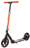 Hudora Scooter Funscoo Fighter 200mm schwarz-orange