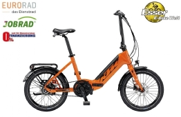 KTM Macina Fold Falt-E-Bike orange