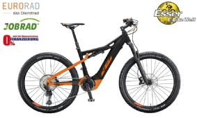 KTM Macina Lycan 271 schwarz-matt-orange