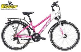 YazooSport 2.4 Mädchen 24 Zoll pink-weiss