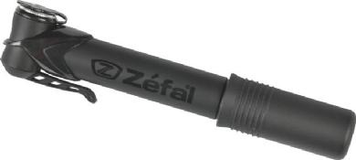 Zefal Alluminium Minipumpe Profil Micro Schwarz matt