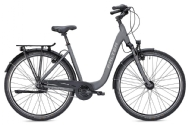 FALTER City/Urbanbike C 4.0 Plus wave matt Titanium// Durch Art 71565