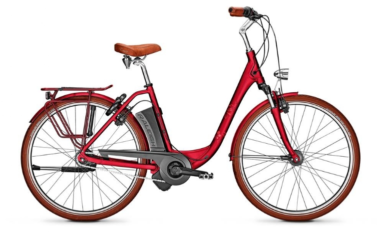 Raleigh - Dover 7R HS Edition, Cherryred