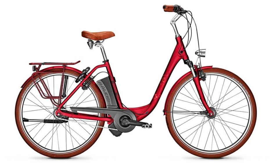 """Raleigh 26"""" Dover 7R HS Edition, Cherryred"""