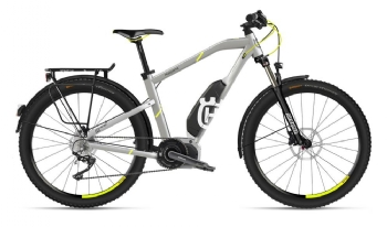 Husqvarna Bicycles LightCross 1 Allroad, Silber/Neon-Gelb