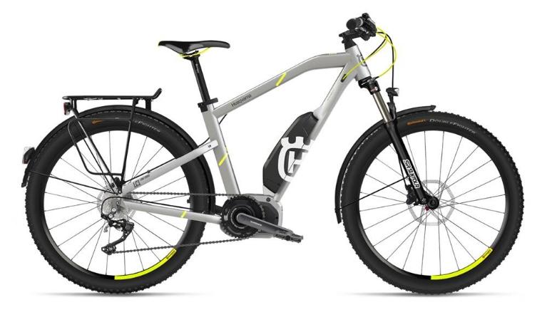 Husqvarna Bicycles - LightCross 1 Allroad, Silber/Neon-Gelb