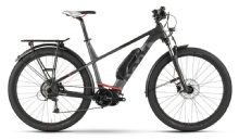 Husqvarna BicyclesGran Tourer GT2, Diamant, Schwarz/Anthrazit/Rot