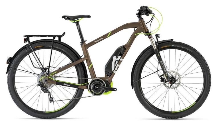 Husqvarna Bicycles - LightCross 2 Allroad, Bronze/Neon-Grün