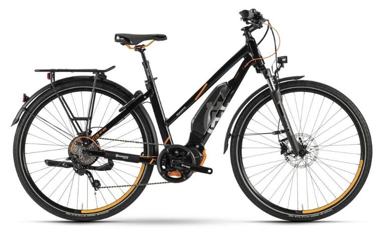 Husqvarna Bicycles - Light Tourer Anniversary Model, Trapez, Magic Schwarz Metallic