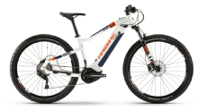 Haibike SDuro HardNine 5.0, White/Orange/Blue