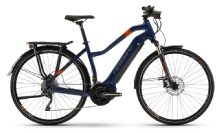 Haibike SDuro Trekking 5.0, Damen, Blue/Orange/Titan