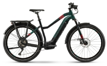 Haibike SDuro Trekking 8.0, Damen, Black/Kingston/Red