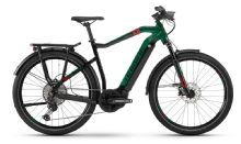Haibike SDuro Trekking 8.0, Herren, Black/Kingston/Red