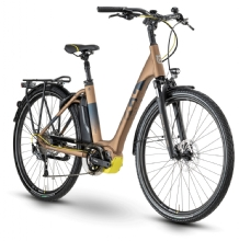 Husqvarna Bicycles Gran City 3, Bronze/Blue/Yellow