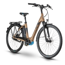 Husqvarna Bicycles Gran City 2 CB, Bronze/Black/Cyan