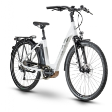 Husqvarna Bicycles Gran City 1, White/Silver/Bronze