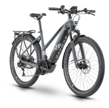 Raymon Tourray E8.0, Trapez, Black/Grey/Grey glossy