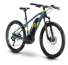 Raymon Hardray E-Nine 4.0, Black/Petrol/Lime glossy