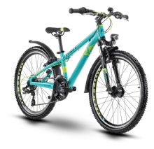 Raymon Fourray 1.0 Street, Cyan/Lime/Black gloss