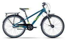 Raymon FourRay 2.5 Street, Petrol Metallic/Lime