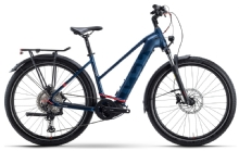 Husqvarna BicyclesGran Tourer 5 Trapez, Blue/Blue/Red matt