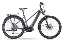 Husqvarna BicyclesGran Tourer 4 Trapez, Bronze/Darkbronze/Red matt