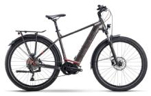 Husqvarna BicyclesGran Tourer 4 Diamant, Bronze/Darkbronze/Red matt