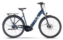 Husqvarna E-BicyclesGran City 4, Dark-Blue/Yellow matt