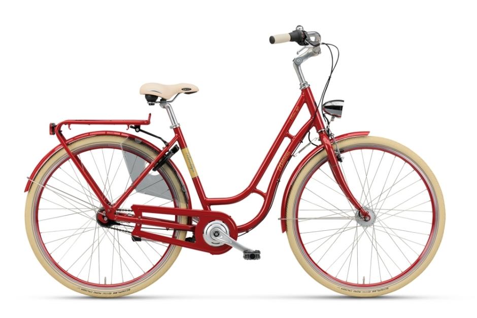 Batavus Brooklyn scarlet rot 50cm