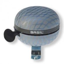 BasilDing-Dong Glocke Noir Silber Metallic