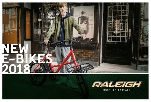 Raleigh - E-Bikes 2018
