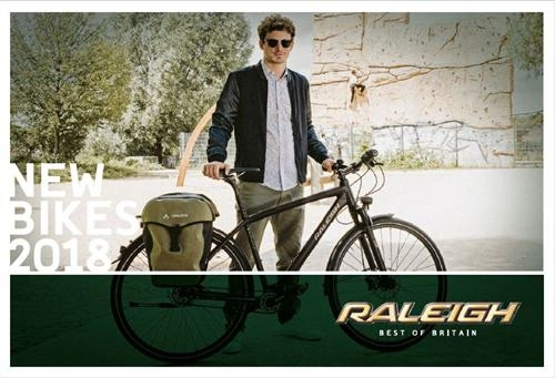 Raleigh - New Bikes 2017