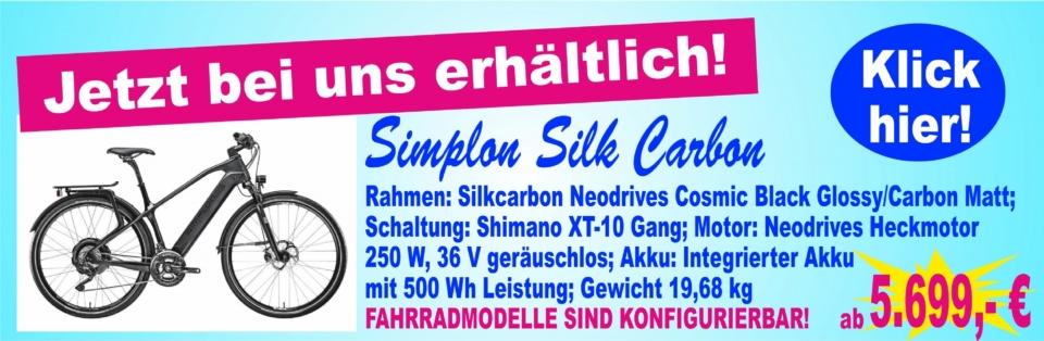 Simplon Silk Carbon Carbon Matt