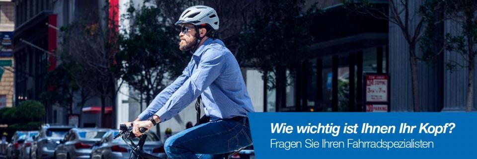 Kampagne: Fahrradhelme