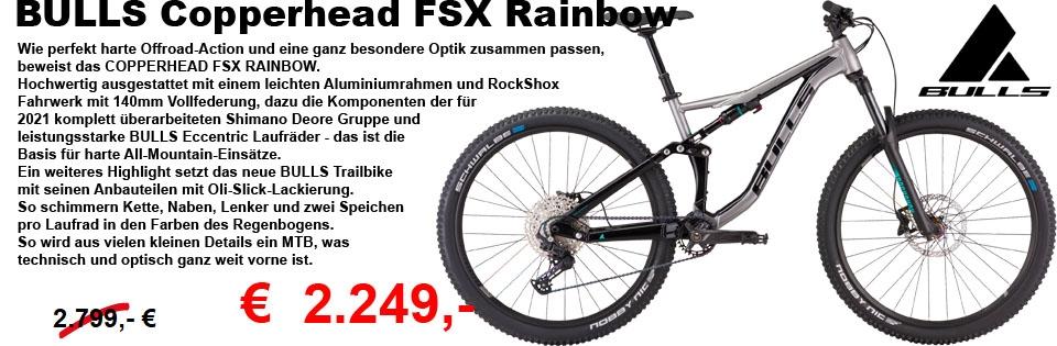 Copperhead FSX Rainbow