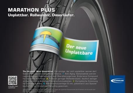 """Schwalbe Marathon Plus """"Unplattbar"""""""